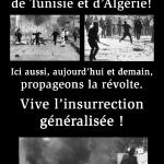 insurrection Tunisie / Algérie