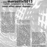 Marseille 2013 (4 affiches)