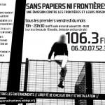 Flyer radio sans papiers ni frontieres
