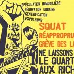Squat, réappropriation, grève des loyers