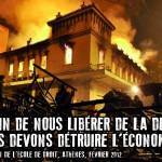 Nous devons détruire l'économie